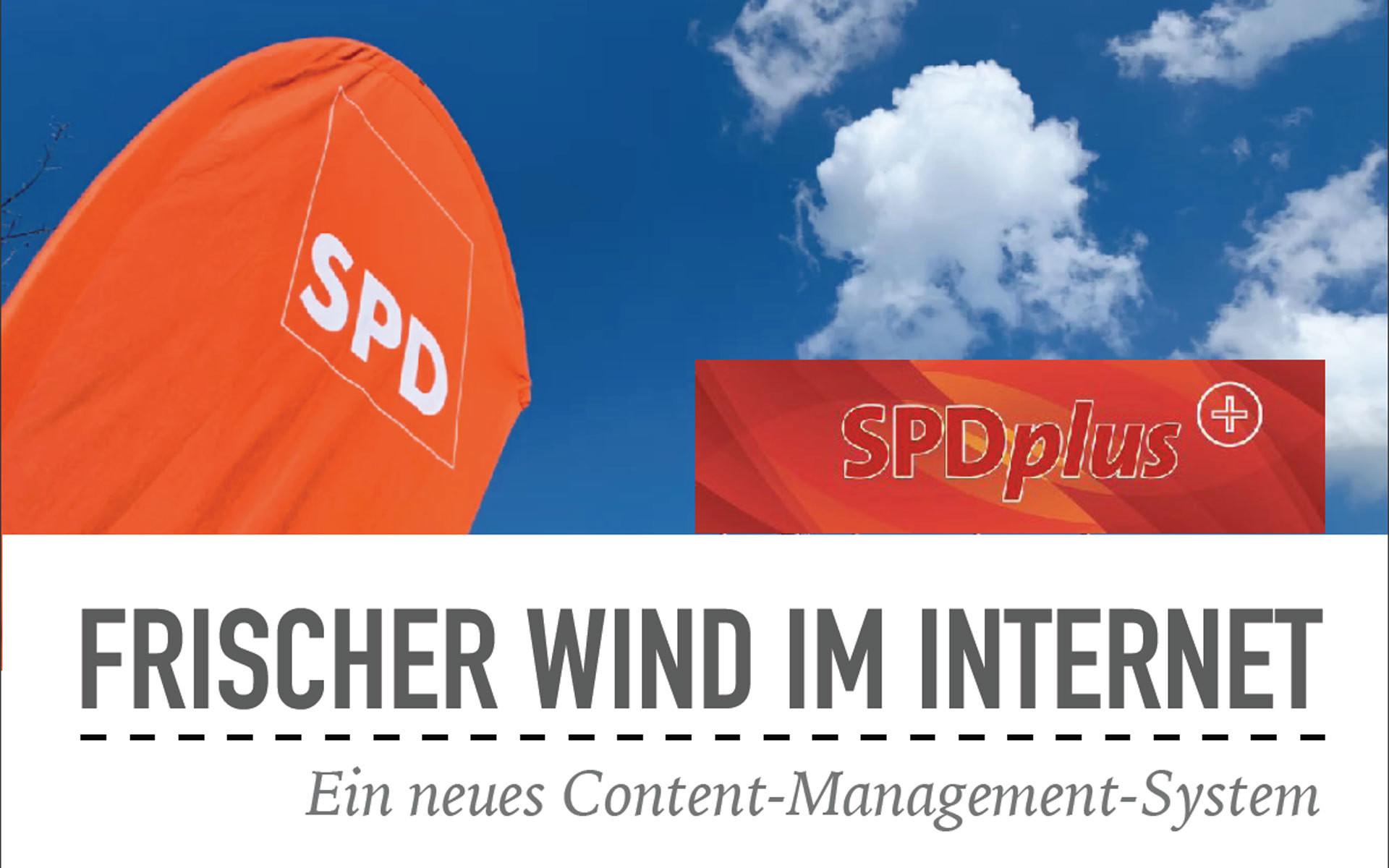 SPDplus - Frischer Wind im Internet